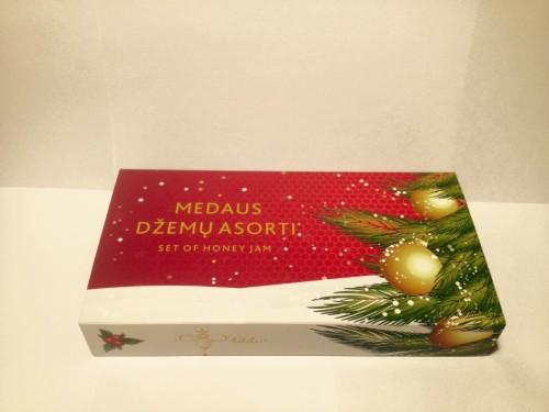 Kalėdinis medaus džemų asorti